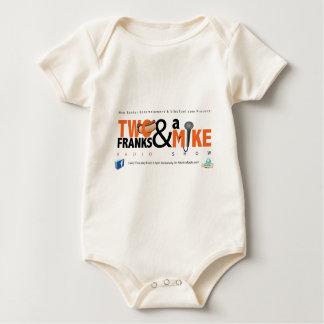 Zwei Fränke u. eine Mike Baby Strampler
