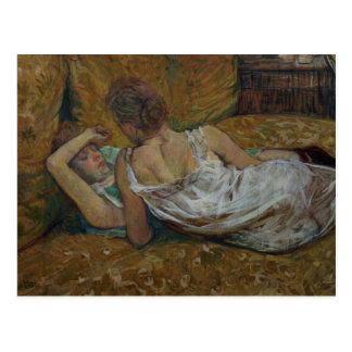 Zwei Freunde (Pastell) Postkarte