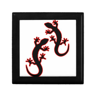 Zwei Geckos Erinnerungskiste