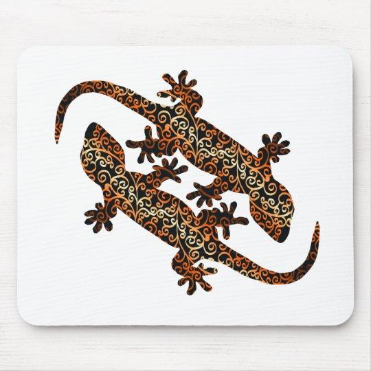 zwei geckos mauspad