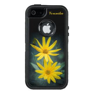 Zwei gelbe Blumen Topinambur OtterBox iPhone 5/5s/SE Hülle