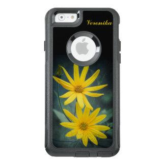 Zwei gelbe Blumen Topinambur OtterBox iPhone 6/6s Hülle