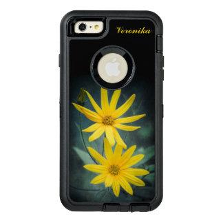 Zwei gelbe Blumen Topinambur OtterBox iPhone 6/6s Plus Hülle