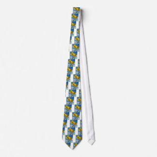 Zwei gelbe Narzissen 2,2 Krawatte