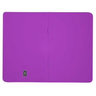 Zwei-Getonte Schwarz-und Lavendel Taschennotizbuch
