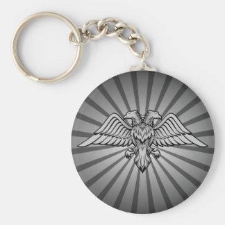 Zwei gingen Adler voran Schlüsselanhänger