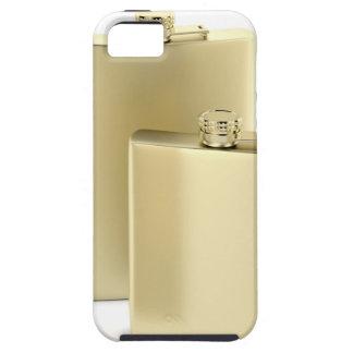 Zwei goldene angesagte Flaschen iPhone 5 Hülle