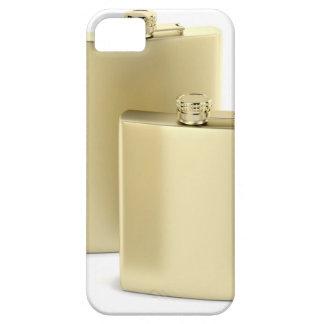 Zwei goldene angesagte Flaschen iPhone 5 Schutzhülle