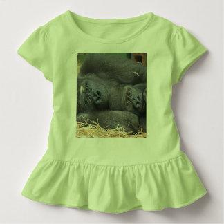 Zwei Gorillas Kleinkind T-shirt