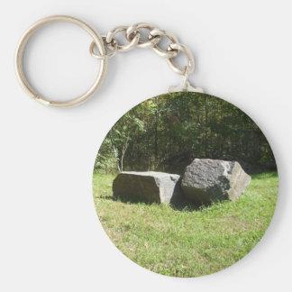 Zwei große Felsen Schlüsselanhänger
