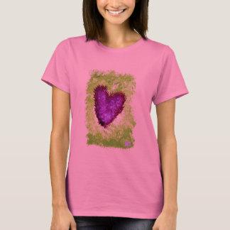 Zwei Herzen als eins T-Shirt