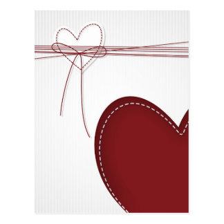 Zwei Herzen Postkarten