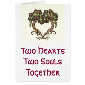 Zwei Herzen, zwei Soule Karte