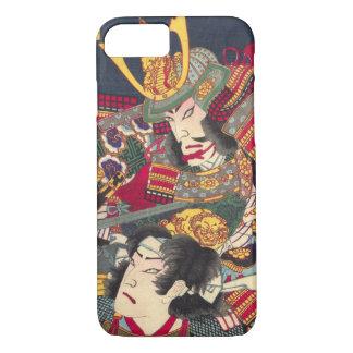 Zwei japanische Samurais bunter iPhone Kasten iPhone 8/7 Hülle