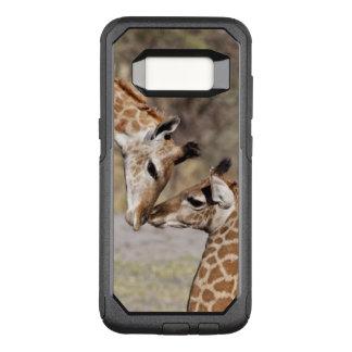 Zwei junge Giraffen OtterBox Commuter Samsung Galaxy S8 Hülle