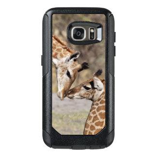Zwei junge Giraffen OtterBox Samsung Galaxy S7 Hülle