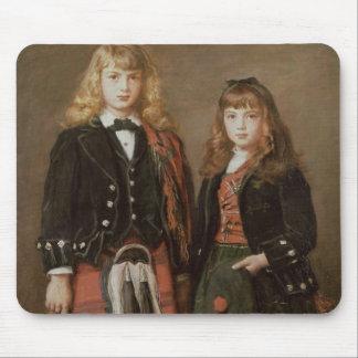 Zwei Kinder Mousepads