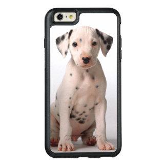 Zwei kleine dalmatinische Schwarzweiss-Welpen OtterBox iPhone 6/6s Plus Hülle