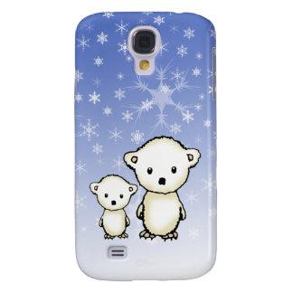 Zwei kleine Eisbären Galaxy S4 Hülle