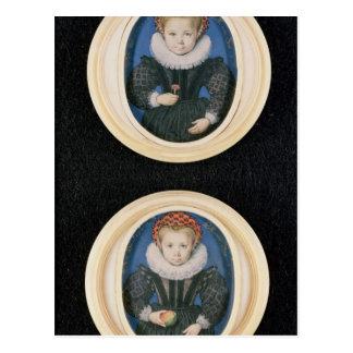 Zwei kleine Mädchen, 1590 Postkarten