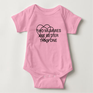 ZWEI MAMAS SIND BESSER ALS EINE BABYBODY