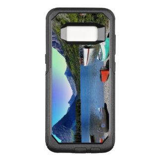 Zwei Medicine See Glacier Nationalpark Montana OtterBox Commuter Samsung Galaxy S8 Hülle