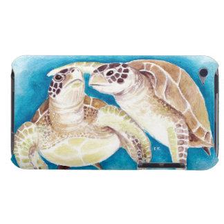 Zwei Meeresschildkröten iPod Case-Mate Case