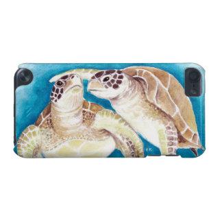 Zwei Meeresschildkröten iPod Touch 5G Hülle