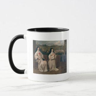 Zwei Nonnen Tasse