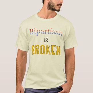 Zwei Parteien zugehörig ist defekt T-Shirt