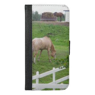 Zwei Pferde iPhone 6/6s Plus Geldbeutel Hülle