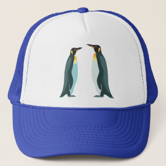 Zwei Pinguine Truckerkappe