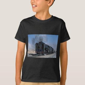 Zwei QJ auf Fracht zu Hexipu, NordwestChina T-Shirt