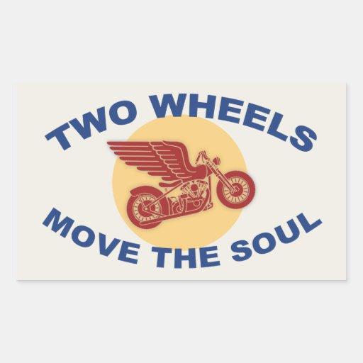Zwei Räder Stickers