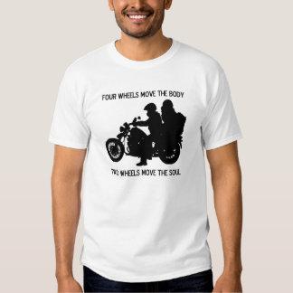 Zwei Räder bewegen das Soul T Shirts