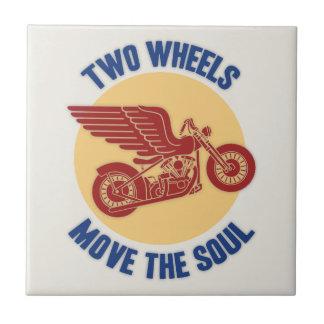 Zwei Räder Kacheln