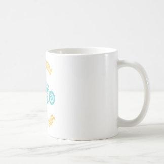 Zwei Räder Kaffeetasse