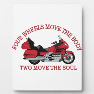Zwei Räder Schautafel