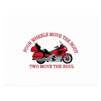 Zwei Räder Postkarten