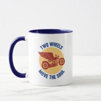 Zwei Räder Tasse