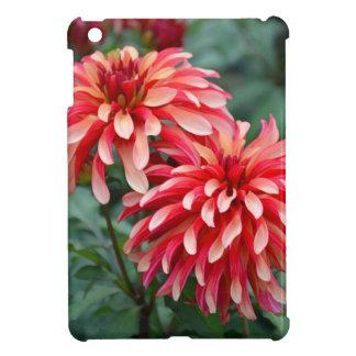 Zwei rosa Dahlie-Blumen iPad Mini Hülle