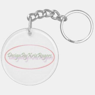 Zwei Rosen keychain durch DesignByKrizRogers Schlüsselanhänger
