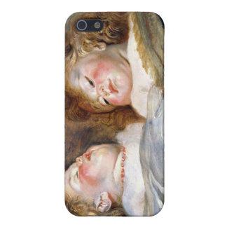 Zwei schlafende Kinder - Peter Paul Rubens iPhone 5 Case