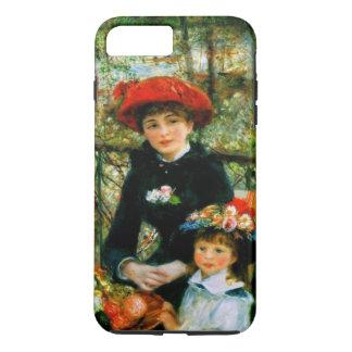 Zwei Schwestern auf der Terrasse iPhone 8 Plus/7 Plus Hülle