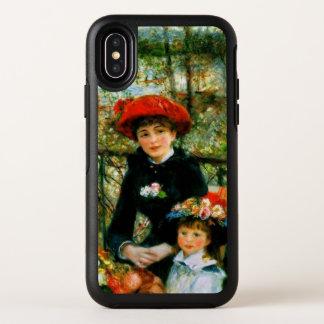 Zwei Schwestern auf der Terrasse OtterBox Symmetry iPhone X Hülle