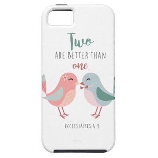 zwei sind besser als ein christlicher Bibelvers Hülle Fürs iPhone 5