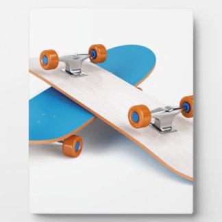 Zwei Skateboards Fotoplatte
