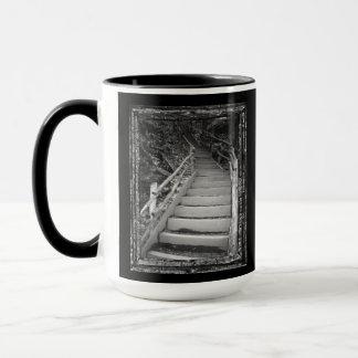 Zwei Soul-Überschreiten Tasse
