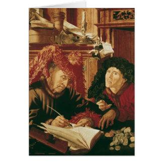 Zwei Steuer-Sammler, c.1540 Karte