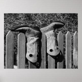 Zwei Stiefel Poster